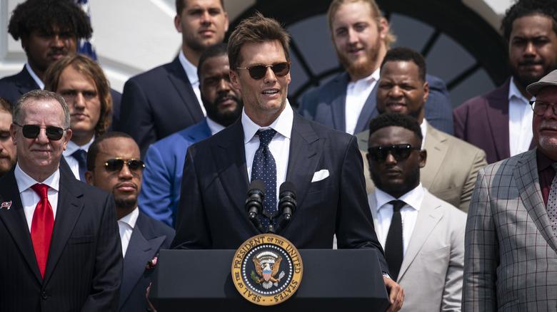 Tom Brady Casa Blanca