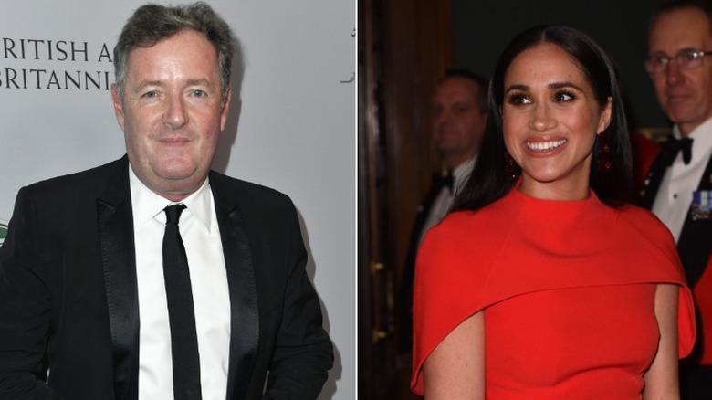 Piers Morgan y Meghan Markle