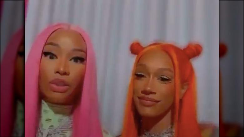 Nicki Minaj y BIA en Instagram viven juntos