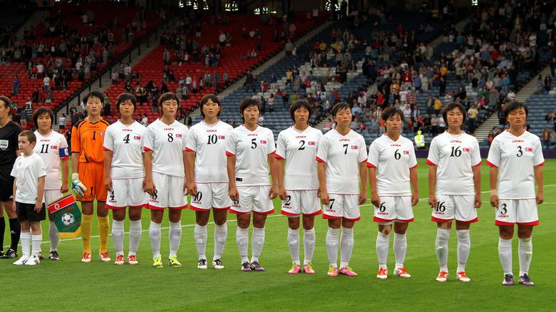 Equipo de fútbol femenino de Corea del Norte en los Juegos Olímpicos de 2012