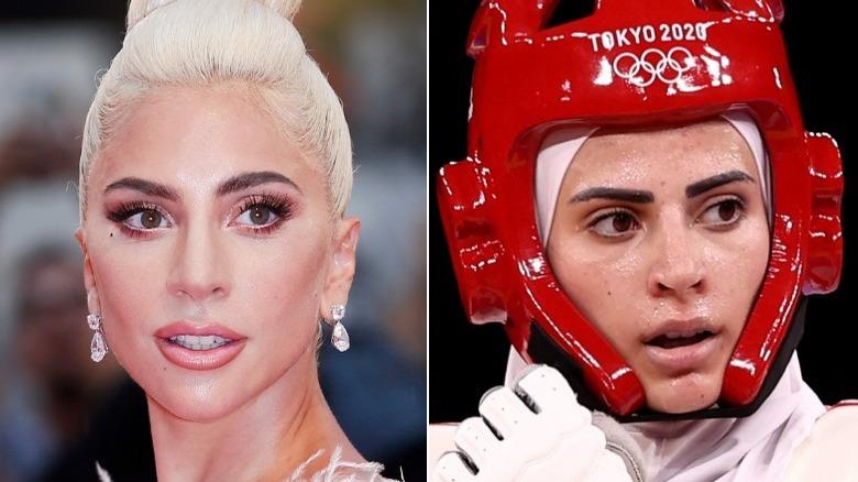 Lady Gaga y Julyana Al-Sadeq lado a lado