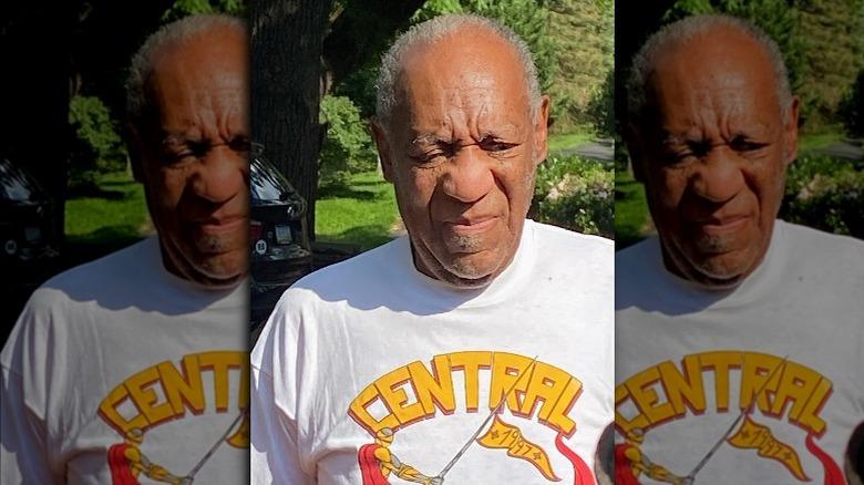 Bill Cosby tras su liberación en 2021