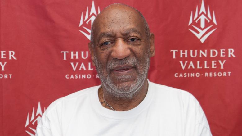 Bill Cosby posa para las fotos en 2014