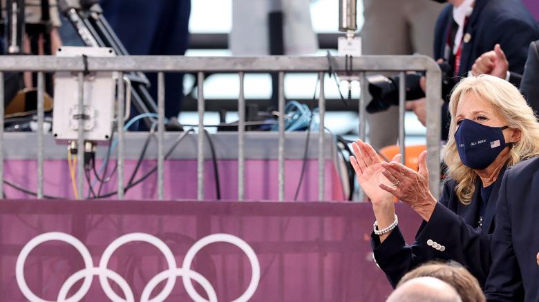 Jill Biden en los Juegos Olímpicos de Tokio 2020