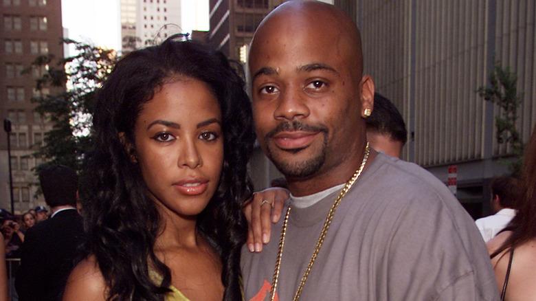 Aaliyah y Damon Dash llegan para el estreno mundial de la película de 20th Century Fox 'Planet of the Apes'