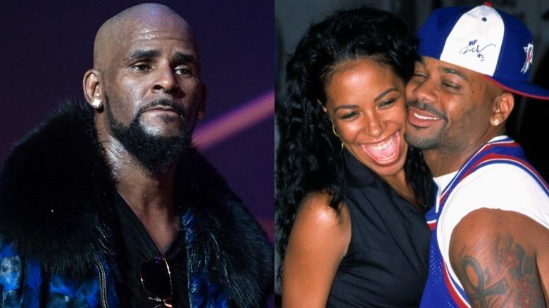 R. Kelly, Aaliyah y Damon Dash