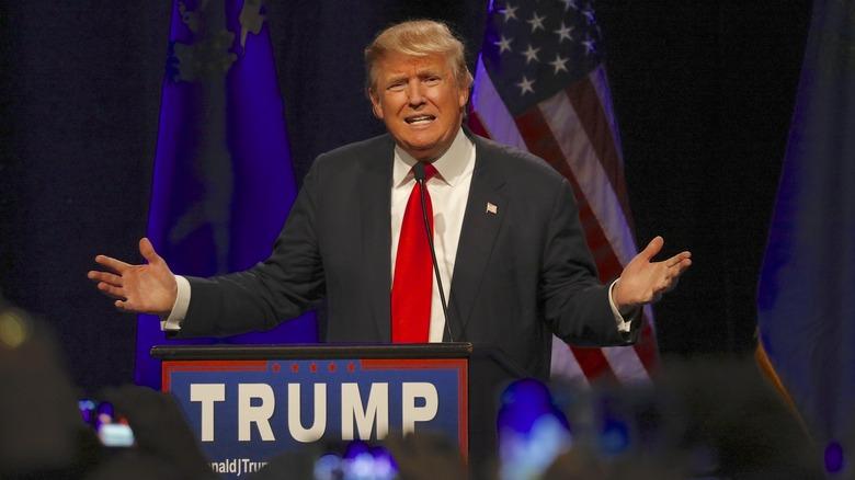 Donald Trump en un evento