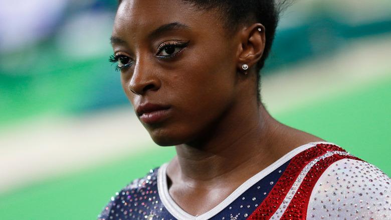 Simone Biles en los Juegos de Río en 2016