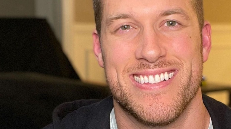Clayton Echard sonriendo