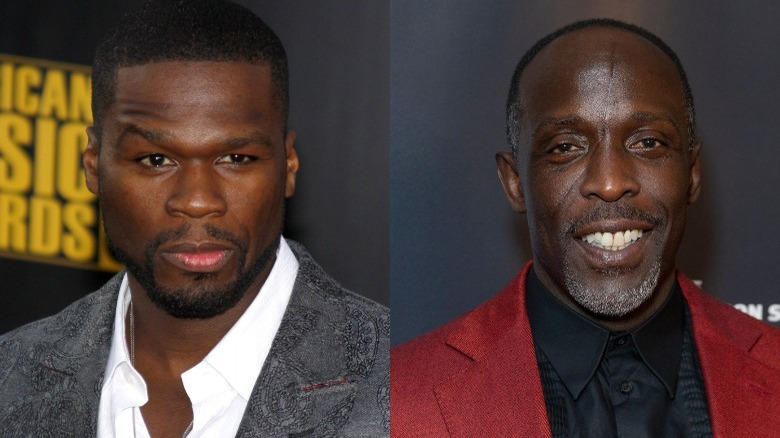 50 Cent y Michael K.Williams