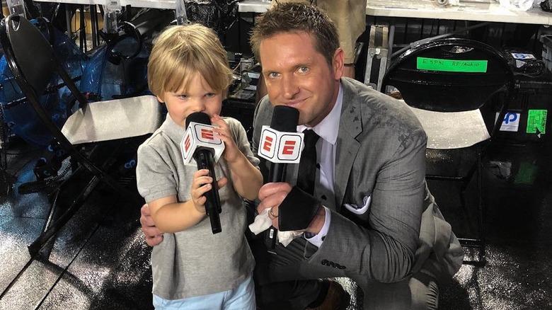 Todd McShay y su hijo