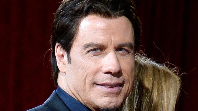 John Travolta en los Oscar 2015