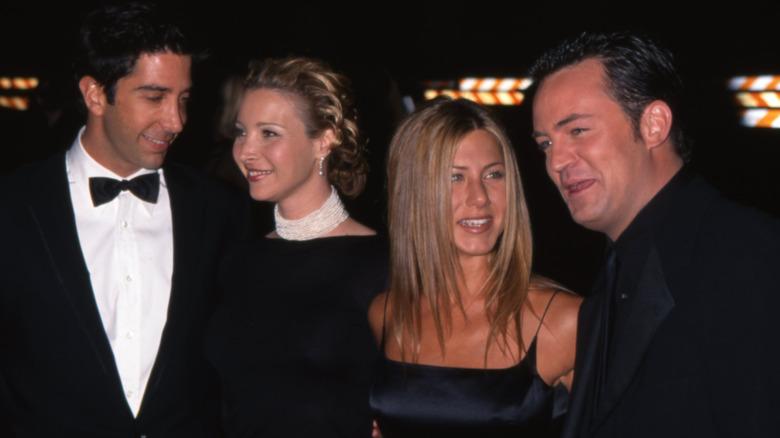 Jennifer Aniston and Friends protagoniza la alfombra roja