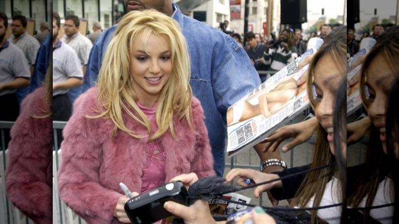 Britney Spears con fans