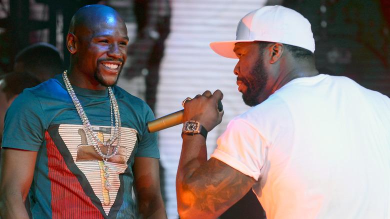 Floyd Mayweather y 50 Cent