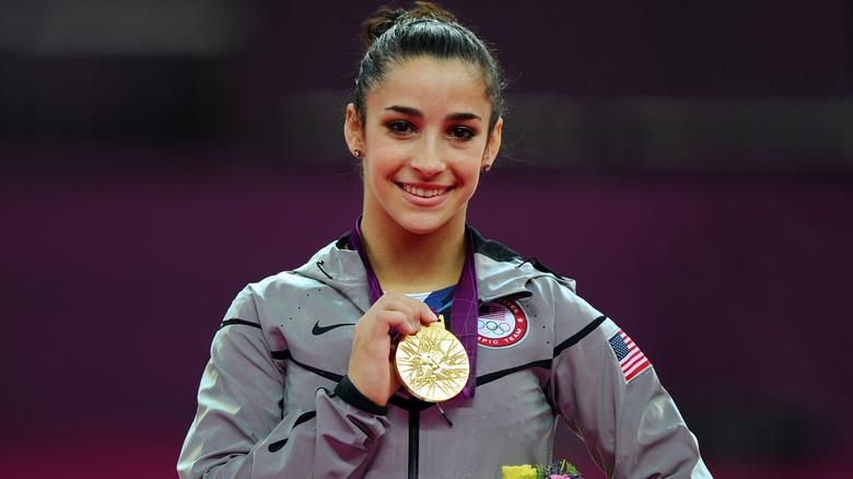Medalla de oro Aly Raisman