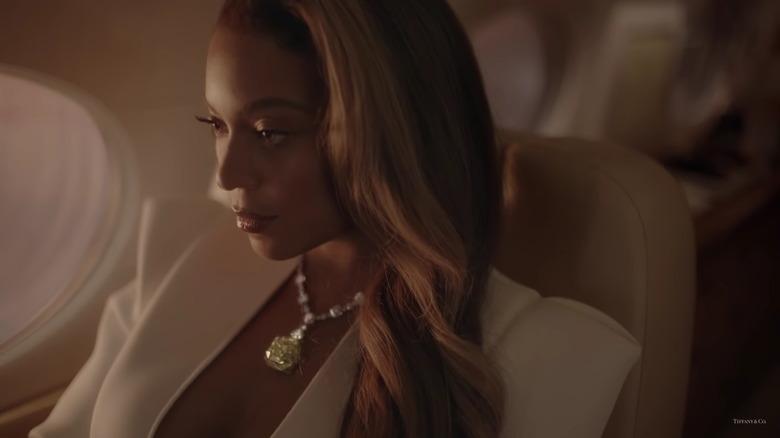 Beyonce en un anuncio de Tiffany & Co.