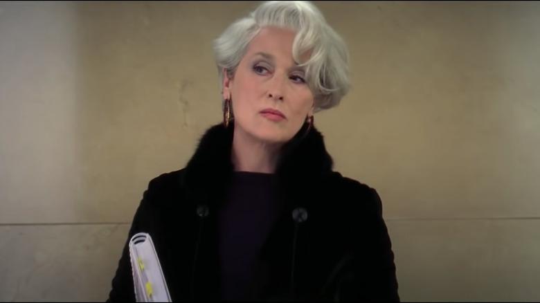 Meryl Streep como Miranda Priestly en El diablo viste de Prada
