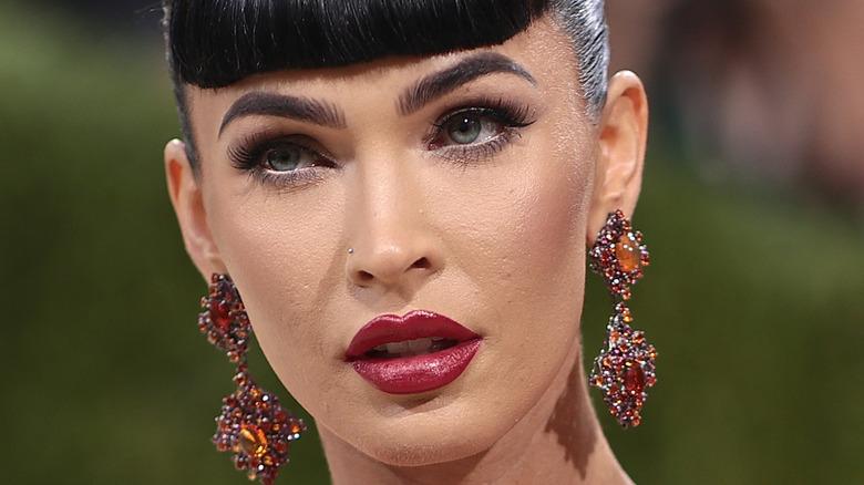 Maquillaje de Megan Fox met gala