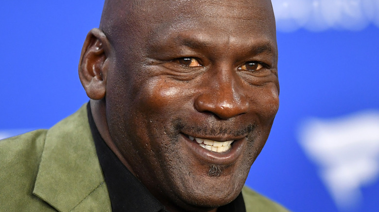 Michael Jordan en un evento