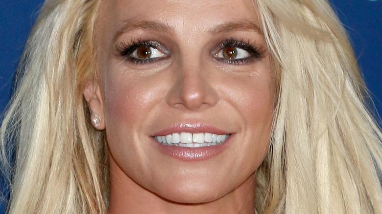 Britney Spears sonriendo