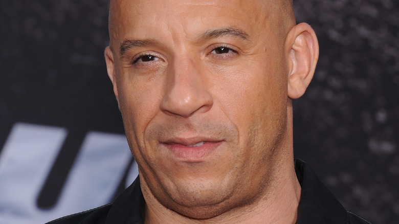 Vin Diesel posando