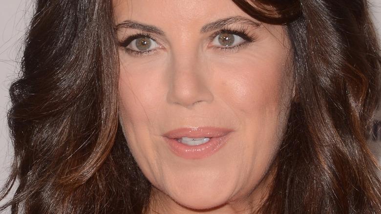 Monica Lewinsky posa premios Webby