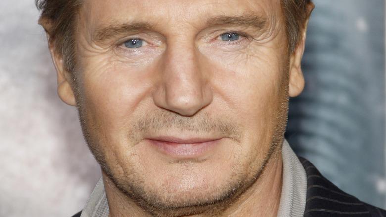 Liam Neeson en la alfombra roja