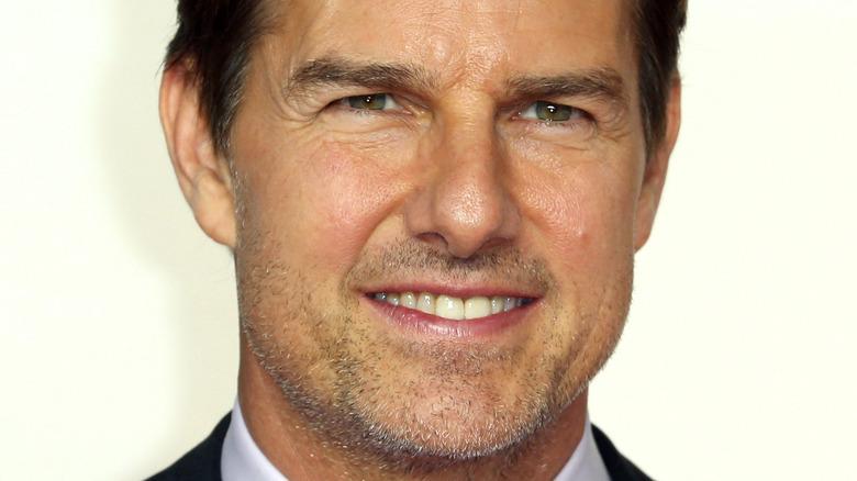 Tom Cruise asiste al estreno de Misión Imposible