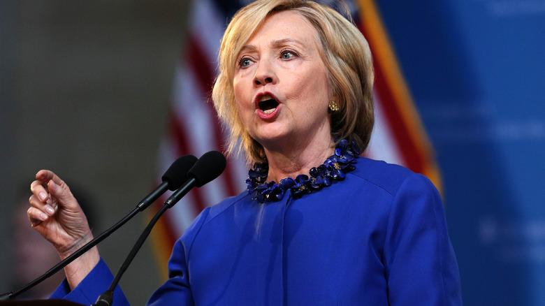 Hillary Clinton en el evento