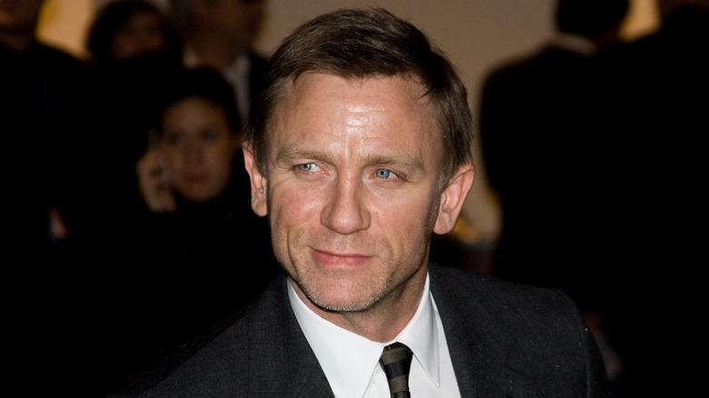 Daniel Craig en el estreno de una película